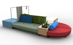 The Bikini Island collection by Werner Aisslinger for Moroso