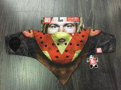 Airhole bandana Face Mask Jason