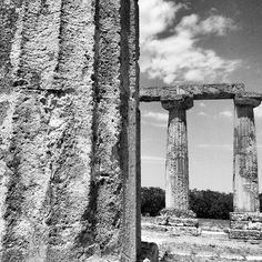 tavole palatine, Metaponto, particolare della colonna