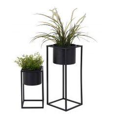 4Living Lonna juuttimatto - Veke.fi Flower Pots, Flowers, Metal Structure, House Doctor, Plant Decor, Elle Decor, Potted Plants, Geometric Shapes, Modern Interior