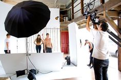 """Behind-the-Scenes of daou denim co.'s Winter 2014 Lookbook shoot.  Check back for our """"Making Of"""" video before the September launch!  #bts #videoshoot #photoshoot #lookbook #sneakpeek #daoudenim #fashionshoot #wintercollection #loveourjob #lamodels #denim"""