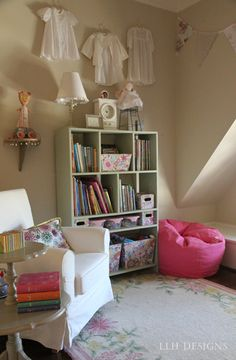 "My girls call this ""the reading corner"" {LLH Designs, 2011}"
