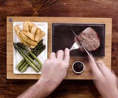 Steak Cooking Stone Plate