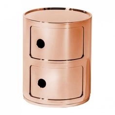 Componibili 2 Metallic - Cajonera | Kartell | AmbienteDirect.com