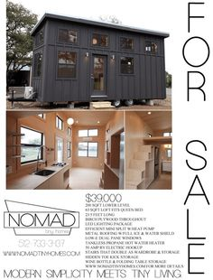 Black Pearl Tiny House by Nomad Tiny Homes 006