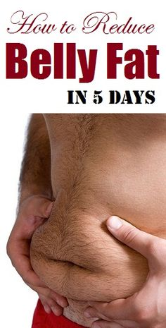 How to reduce belly fat in 5 days...