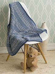 Ravelry: #28 Mosiac Baby Blanket pattern by Margret Willson