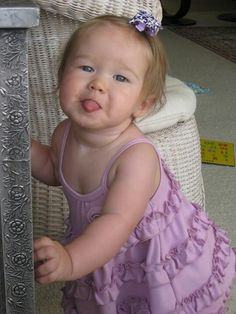 Love this photo of my great niece- -just perfect