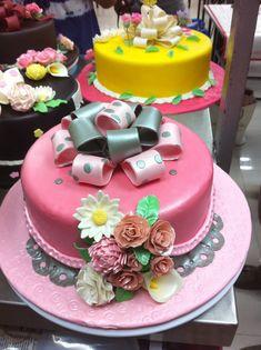 Wilton cake decorating class 3