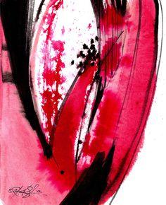 Abstraction Series . 302...  Original by Kathy Morton Stanion  KathyMortonStanion.etsy.com