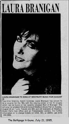 Laura Branigan 1995, Westbury Music Fair, NY