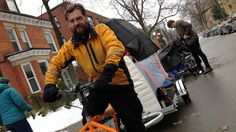 Abram Bergen runs Hamilton's first full-service bicycle moving co-op. He's hoping that better local cycling infrastructure will get more peo...