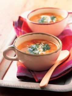 Recipe : スープ・オ・ピストゥ/バジルの香りが広がる、野菜たっぷりミネストローネスープ。 #Recipe #レシピ