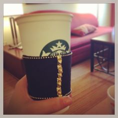 Slate Coffee Sleeve by @Courtney Baxtron | M A K E R - T A K E S | Pi ...