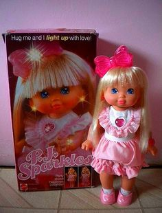 PJ Sparkles. She was so magical. My favorite doll, ever. #90s