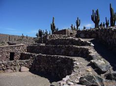 Ruinas de Pucara, en Tilcara - Argentina