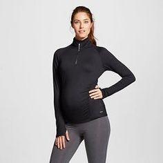 C9 Champion® Women's Maternity Run 1/4 Zip Pullover