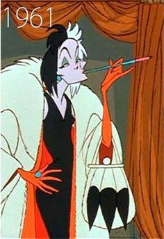 Cruella De Vil, 1961 - One day, One day I will do a performance as Cruella De Vil!