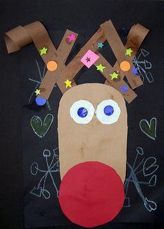 nadia- red nosed reindeer | we were diggin the curled paper … | Flickr