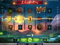 Spela Lights slot från Netent hos Leo Vegas Casino