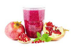Heart health orange pomegranate smoothie