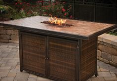 Agio Outdoor Patio Furniture Fire Table Products and Pictures