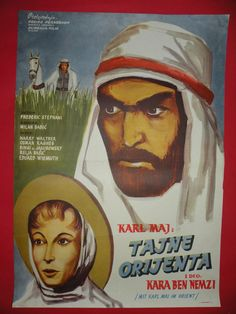 KARL MAI IN ORIENT 1963 HARRY WALTER STEFANI VERY RARE EXYU MOVIE POSTER