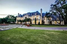 Homes & Mansions: Limestone French Mansion For Sale in Dallas, TX For $9,988,000