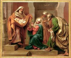 "2 February – Feast of the Presentation of the Lord – This is known as a ""Christmas feast"" since it points back to the Solemnity of Christmas.    Many Catholics practice the tradition of keeping out the Nativity creche or other Christmas decorations until this feast.   The Presentation of Jesus at the Temple .........."