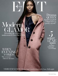 """Naomi Campbell Wows for The Edit, Says She Still Gets """"Scared"""" About Catwalk"""