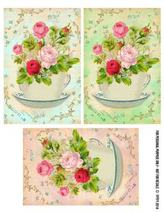 Free Romantic Rose Cards