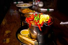 Try Cajun/Creole-style delicacies and seafood, plus catch the best in local and national bands, nightly at the Broadway Oyster Bar in STL. #Missouri.