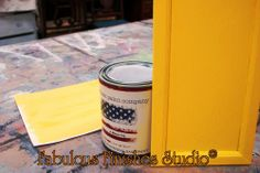 new color American Paint Company A - MAIZE-ING   is amazing     shop.fabfinisher.com  http://fabulousfinishes.wordpress.com/2013/11/18/our-chalk-clay-mineral-paint-colors-bye-bye-hello-and-hey-hey-new-reclaim-colors/