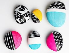 6 Ways To Paint A Rock by Handmade Charlotte