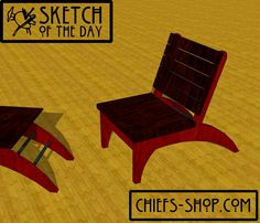 Sketch of the Day: Modern Chair