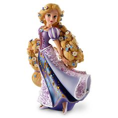 Disney Showcase Rapunzel Couture de Force Figurine, Disney Collectibles, by Disney, Disney Showcase Rapunzel Couture de Force Figurine. The Disney Couture de Force is a stunning collection inspired by Disneys reigning princesses and vampy villains embe. Disney Rapunzel, Rapunzel Flynn, Bolo Rapunzel, Walt Disney, Hades Disney, New Disney Princesses, Princess Rapunzel, Disney Dolls, Disney Love