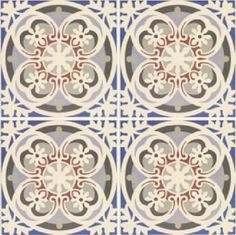 Sample-of-Abbey-Fountains-Victorian-Pattern-Encaustic-Porcelain-Wall-Floor-Tiles