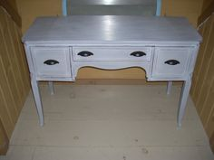 antique vintage FEDERAL STYLE BUFFET side board by COTTAGEGOLD, $650.00