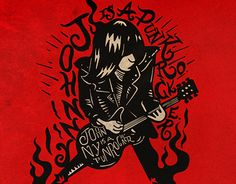 """Check out new work on my @Behance portfolio: """"Johnny is a punkrocker"""" http://on.be.net/1QLxNWc"""