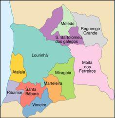 Freguesias do concelho da Lourinhã
