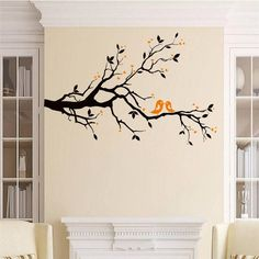 Good price black tree branch wall stickers living room decor x014. diy home decals animals cartoon birds mural art posters 5.0 just only $4.24 with free shipping worldwide  #wallstickers Plese click on picture to see our special price for you