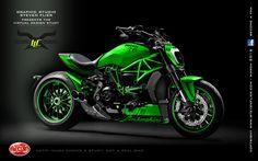 Virtual Tuning Ducati XDiavel - Client Limbächer LLC