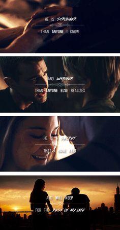 """""""I'll miss you."""" ~Divergent~ ~Insurgent~ ~Allegiant~"""