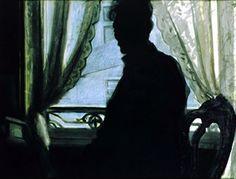 Léon Spilliaert (Belgian, 1881-1946) - Silhouette of the Artist, 1907