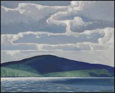"""""""Trout Lake,"""" A.J. Casson, oil on board, 12 x 15"""", private collection."""