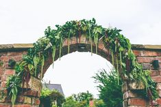 Greenery & Foliage Arch Wedding Decor - Annasul Y Wedding Dress For A Greenery Filled Marquee Wedding In The North West With Images From Emma Boileau Photography Arch Wedding, Wedding Arch Flowers, Marquee Wedding, Green Wedding, Diy Flowers, Wedding Bouquets, Wedding Decor, Wedding Dresses, North West