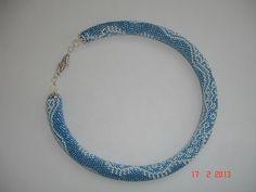 Галерея вязанных жгутиков-шнуриков и узоры к ним | biser.info - всё о бисере и бисерном творчестве