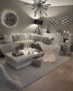 - Modern Interior Designs - 54 Reading Room Decor Inspiration to Make You Cozy Design # Декор. 54 Reading Room Decor Inspiration to Make You Cozy Design # Декор гостиной команты Reading Room Decor, Living Room Decor Cozy, Living Room On A Budget, Living Room Colors, Living Room Interior, Home Interior Design, Living Room Furniture, Living Room Designs, Bedroom Decor
