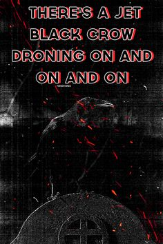 """"""" Up above our heads droning on and on and on """" AB/AP from Twin Skeletons"""