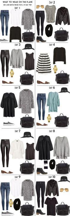 10 Days in Stockholm Sweden Packing Light List Day Looks #packinglight #travellight #traveltips #travel